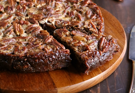 Brownie Pecan Pie | Best Pie Recipes Ever: Perfect For Christmas And Special Holidays
