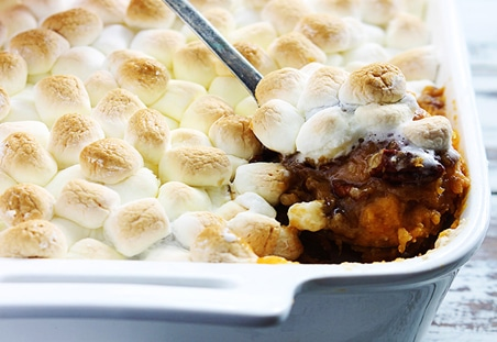Candied Pecan Sweet Potato Casserole Diamond Nuts