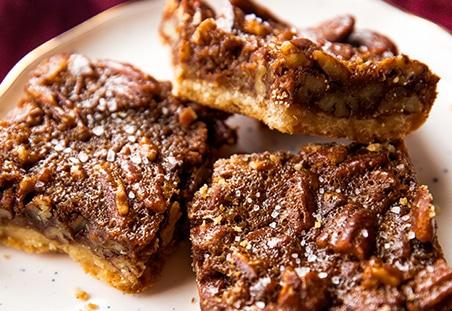 Brown Butter Pecan Pie Bars